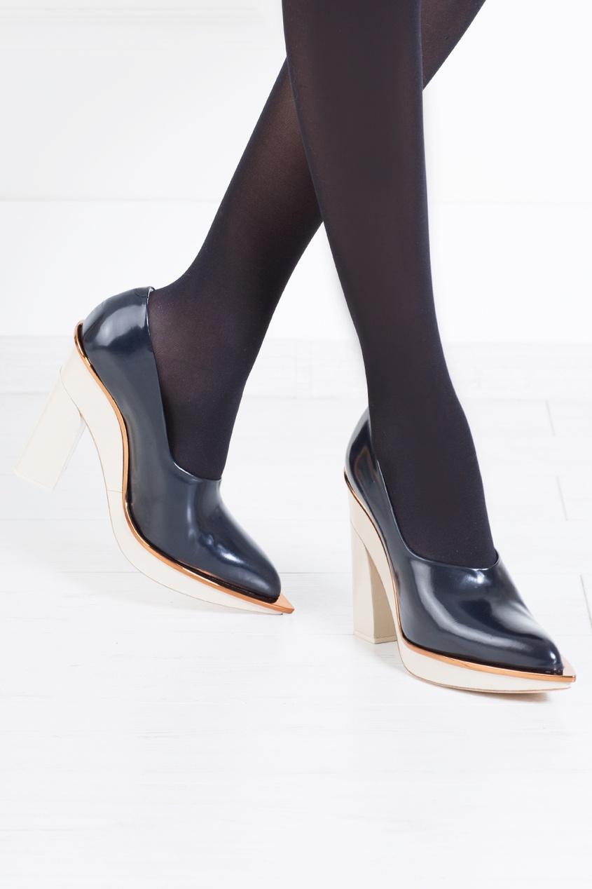 Кожаные туфли от AIZEL
